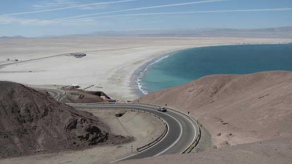 La reserva marina La Rinconada se encuentra a 30 kilómetros de Antofagasta.