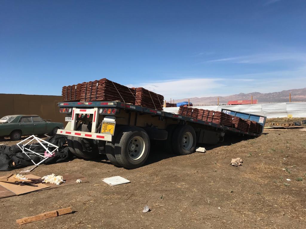 cb5527885ed9 Logran recuperar millonario botín resultante del robo de un camión ...