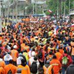 Marcha trabajadores portuarios